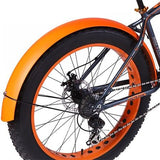 Snowmobile Bicycle fender Bikewest.com Orange China