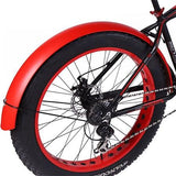 Snowmobile Bicycle fender Bikewest.com red China