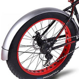 Snowmobile Bicycle fender Bikewest.com Silver China
