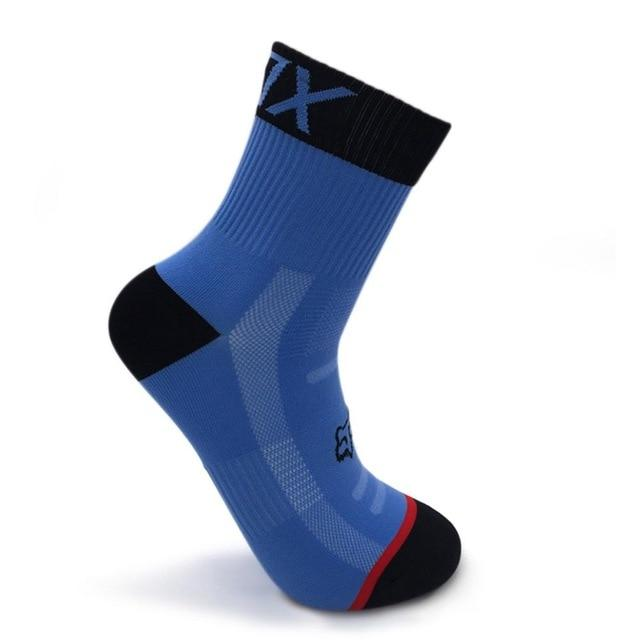 Sports New Cycling Socks Top Quality Bikewest.com Blue