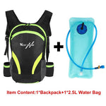 Load image into Gallery viewer, Travel Backpack Bikewest.com 15L Green-Water bag