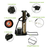 Ultra-light MTB Bike Pump Portable Bikewest.com
