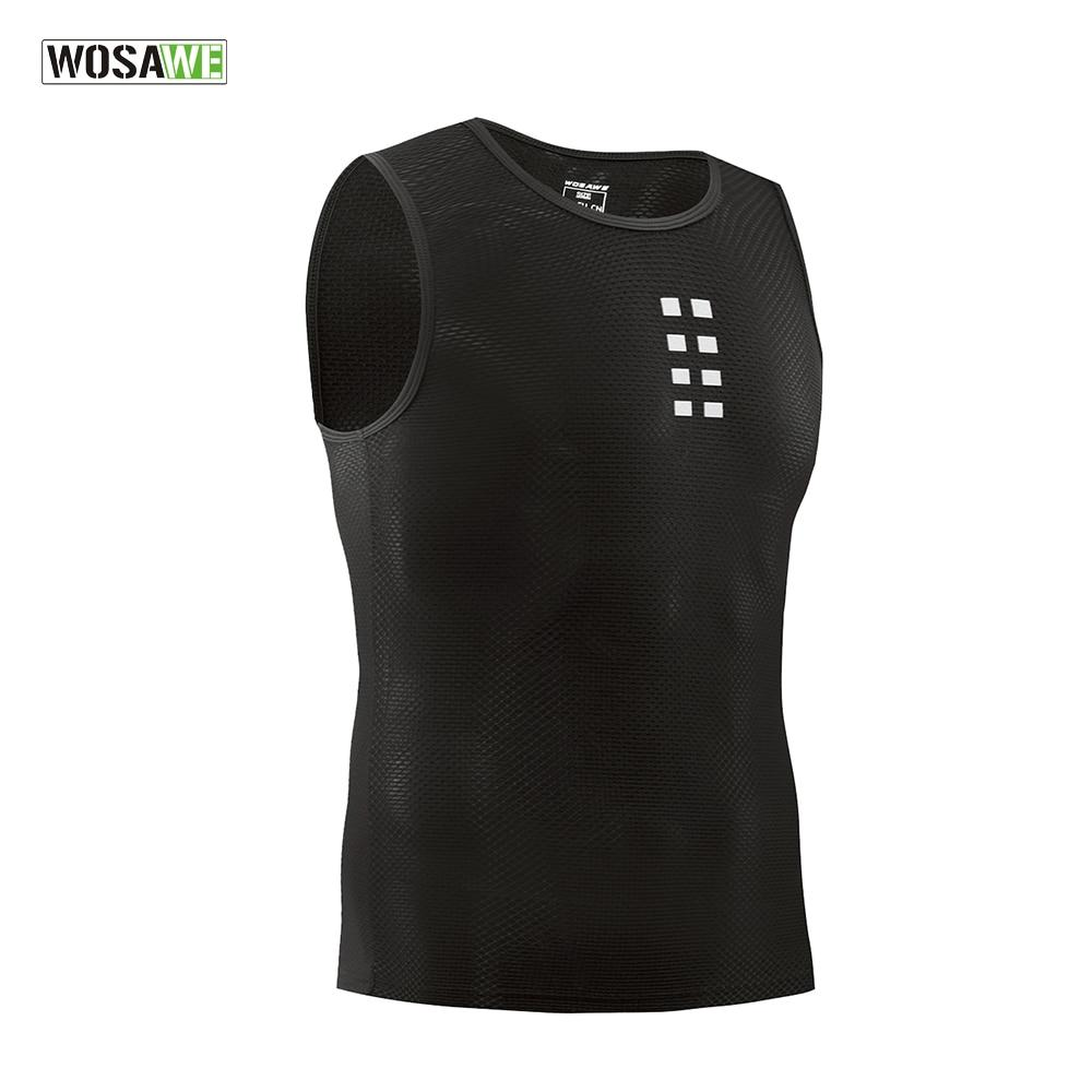 Ultra-thin Cycling Vest Base Layer Sleeveless Bikewest.com