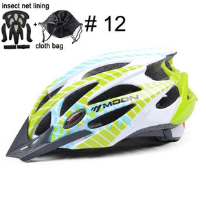 Ultralight Bicycle Helmet In-mold MTB Bikewest.com Upgrade Color 12 L (58-61cm)