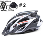 Load image into Gallery viewer, Ultralight Bicycle Helmet In-mold MTB Bikewest.com Upgrade Color 2 L (58-61cm)