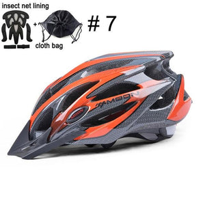 Ultralight Bicycle Helmet In-mold MTB Bikewest.com Upgrade Color 7 L (58-61cm)
