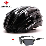 Load image into Gallery viewer, Ultralight Bicycle Helmets Bikewest.com full black C M(54-58CM)