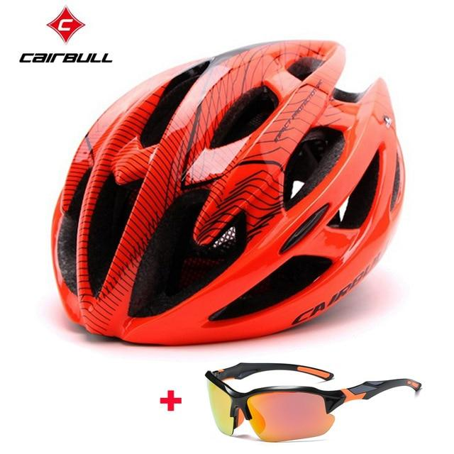 Ultralight Bicycle Helmets Bikewest.com orange C M(54-58CM)