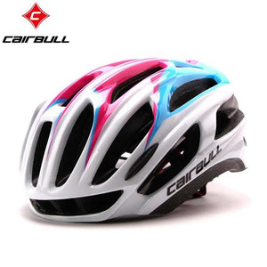 Ultralight Bicycle Helmets Bikewest.com pink white M(54-58CM)