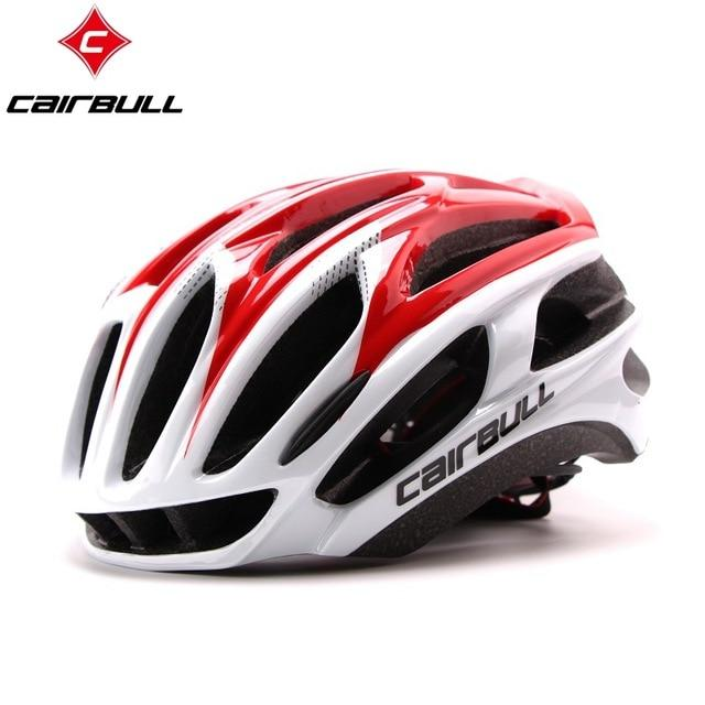 Ultralight Bicycle Helmets Bikewest.com red white L( 57-63CM)
