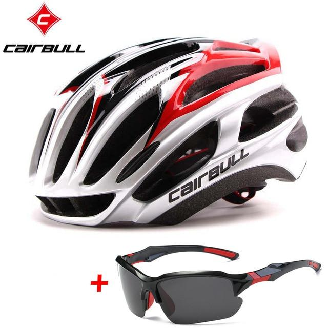 Ultralight Bicycle Helmets Bikewest.com silver red C M(54-58CM)