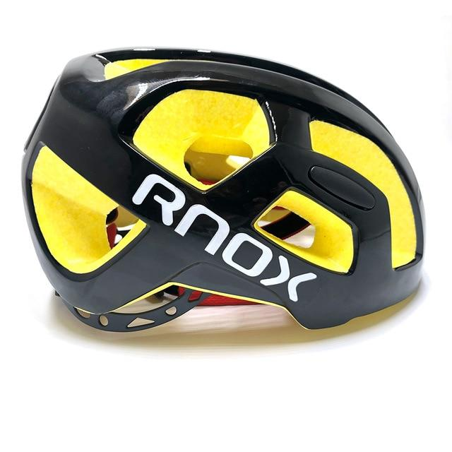 Ultralight Cycling Helmet Rainproof MTB Helmet Bikewest.com Black yellow