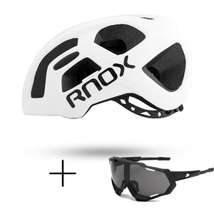 Ultralight Cycling Helmet Rainproof MTB Helmet Bikewest.com Helmet and glasses 2