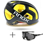Load image into Gallery viewer, Ultralight Cycling Helmet Rainproof MTB Helmet Bikewest.com Helmet and glasses 3
