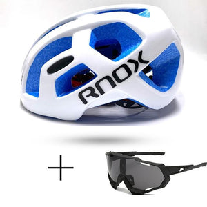 Ultralight Cycling Helmet Rainproof MTB Helmet Bikewest.com Helmet and glasses 4