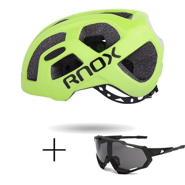 Ultralight Cycling Helmet Rainproof MTB Helmet Bikewest.com Helmet and glasses 5