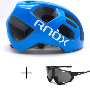 Ultralight Cycling Helmet Rainproof MTB Helmet Bikewest.com Helmet and glasses 6