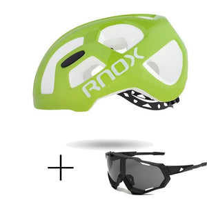 Ultralight Cycling Helmet Rainproof MTB Helmet Bikewest.com Helmet and glasses 7