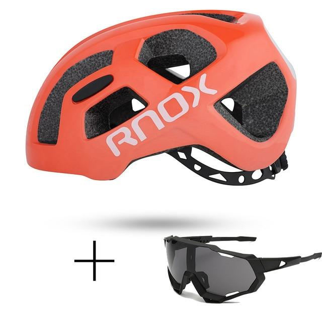 Ultralight Cycling Helmet Rainproof MTB Helmet Bikewest.com Helmet and glasses 9