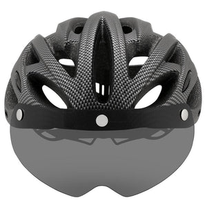 Ultralight Cycling Helmet With Removable Visor Goggles Bikewest.com