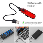 Load image into Gallery viewer, USB Rechargeable Bike Taillight LED Bikewest.com