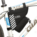 Load image into Gallery viewer, Waterproof Bike Triangle Bag For Bicycle Bikewest.com Black