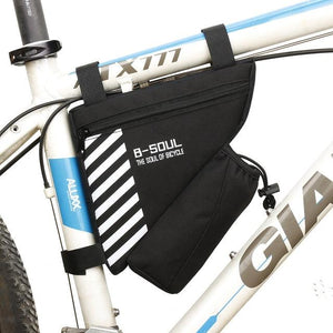 Waterproof Bike Triangle Bag For Bicycle Bikewest.com Black