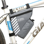 Load image into Gallery viewer, Waterproof Bike Triangle Bag For Bicycle Bikewest.com Gray