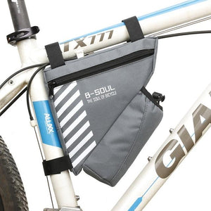 Waterproof Bike Triangle Bag For Bicycle Bikewest.com Gray