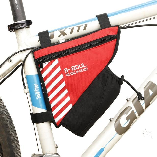 Waterproof Bike Triangle Bag For Bicycle Bikewest.com Red
