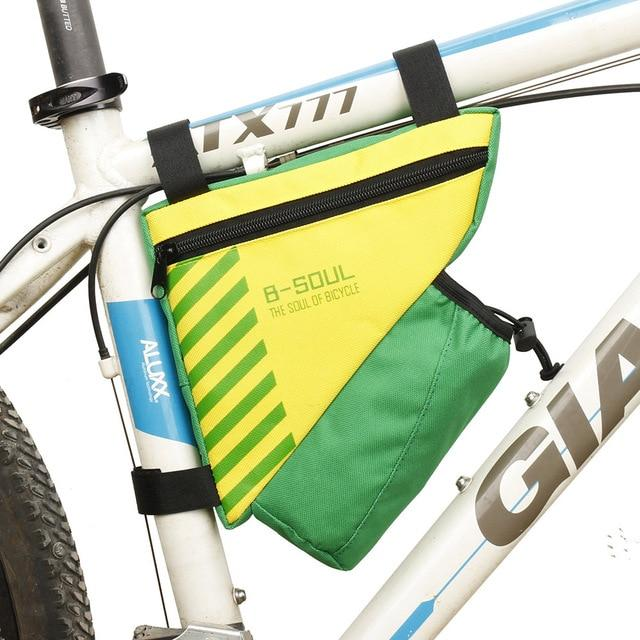 Waterproof Bike Triangle Bag For Bicycle Bikewest.com Yellow