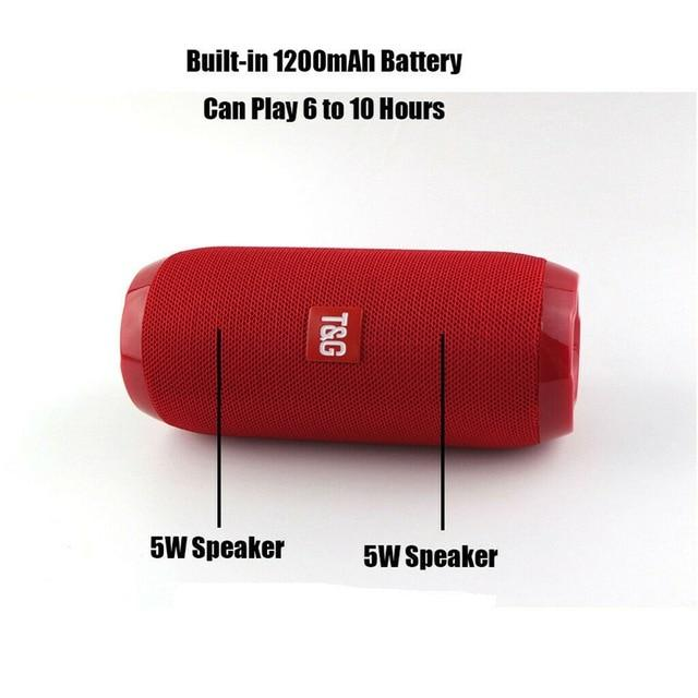 Waterproof Subwoofer Portable Bluetooth Speaker Bikewest.com China Red other, Speaker
