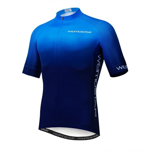 Weimostar Top Green Cycling Jersey Funny Men's Bikewest.com Style 4 M