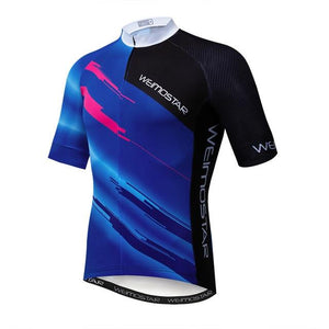 Weimostar Top Green Cycling Jersey Funny Men's Bikewest.com Style 8 M
