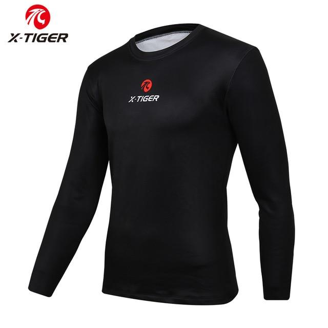 Winter Long Sleeve Cycling Base Layer Underwear Bikewest.com Black S