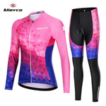 Load image into Gallery viewer, Women Cycling Jersey Mtb Set Bikewest.com 10 4XL