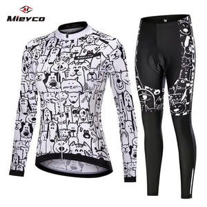 Women Cycling Jersey Mtb Set Bikewest.com 14 4XL