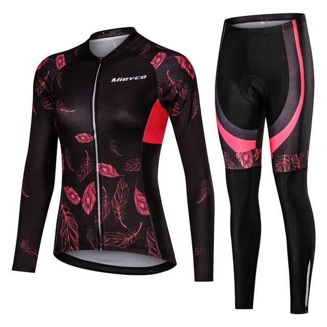 Women Cycling Jersey Mtb Set Bikewest.com 2 4XL