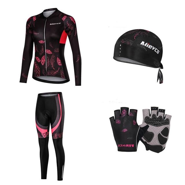 Women Cycling Jersey Mtb Set Bikewest.com 5 4XL