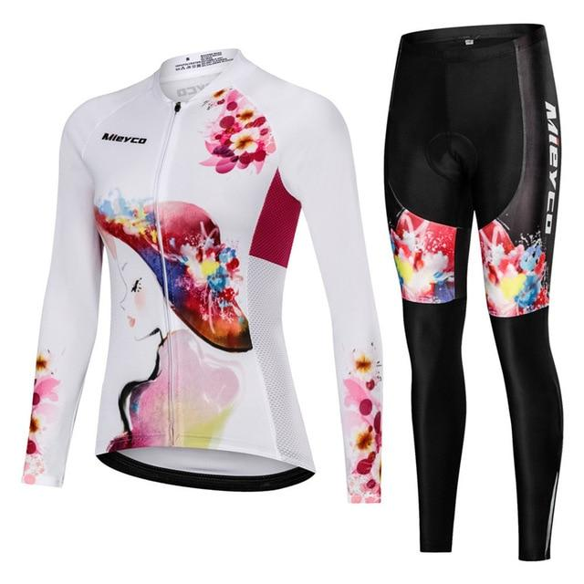 Women Cycling Jersey Mtb Set Bikewest.com 6 4XL