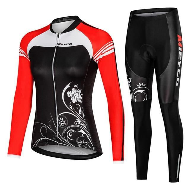 Women Cycling Jersey Mtb Set Bikewest.com 7 4XL