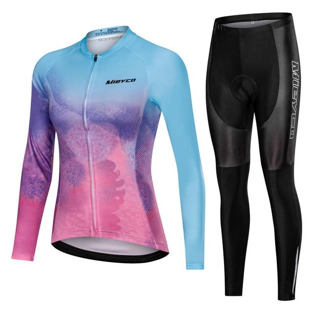 Women Cycling Jersey Mtb Set Bikewest.com 8 4XL