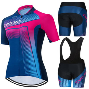 Women Summer Short Sleeve Cycling Jersey Bicycle Road MTB Bike Shirts Bikewest.com