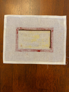 No One Home (some stitching)