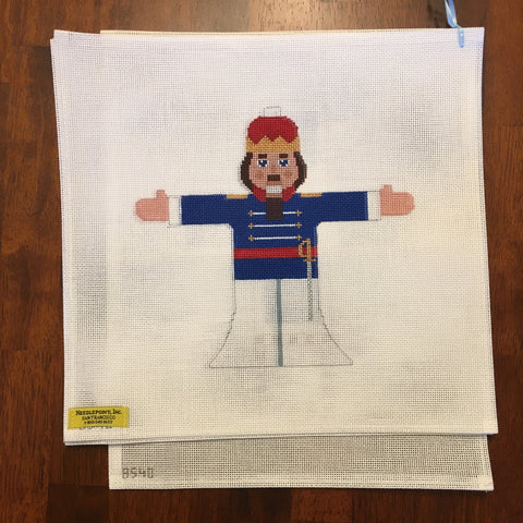 Nutcracker Jack in the Box (3 canvases)