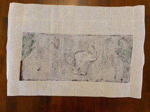 Elephant Scene (some stitching)