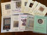 Lot of 57 Counted Charts