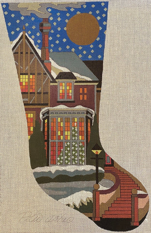 Vintage - English Christmas Stocking