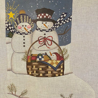 Snow Family Stocking