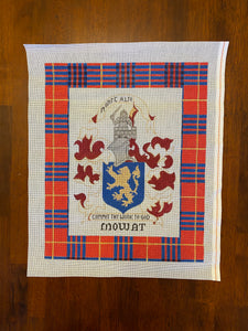 Scottish Plaid/Crest (Mowat Clan)
